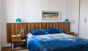 Apartamento Lapa: Quartos  por Estúdio Paulo Alves
