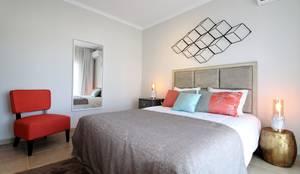 Camera da letto in stile in stile Eclettico di Ana Leonor Rocha