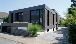 Herrmann Massivholzhaus wohnhaus aus massivholz und sicht beton in weiterstadt de