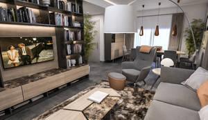 Salones de estilo moderno de studiosagitair