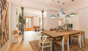 Salas de jantar modernas por CABALLERO Fotografía de Arquitectura, Inmobiliaria e Interiorismo