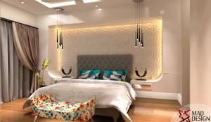 غرفة نوم تنفيذ MAD DESIGN