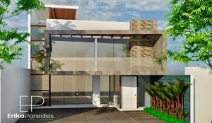 Fachada Principal: Casas unifamiliares de estilo  por EPG  Studio