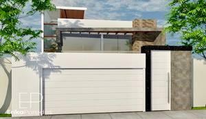 Fachada Exterior: Casas unifamiliares de estilo  por EPG  Studio