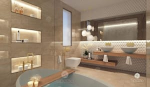 :  حمام تنفيذ Spazio Interior Decoration LLC