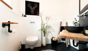 Gaste Wc badrenovierung dusche im gäste wc by banovo gmbh homify