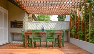 eclectische Tuin door Bloco Z Arquitetura