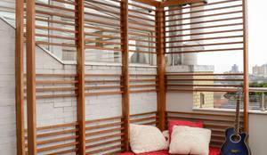Residência KES: Terraços  por Bloco Z Arquitetura