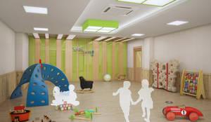 한국항공우주원 직장어린이집: (주)건축&건축사사무소예일의  학교