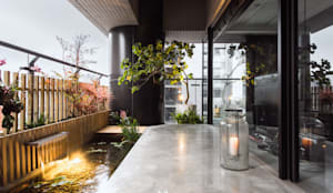 台中室內設計 禾巨事業 作品集:  前院 by 台中室內設計 禾巨事業空間設計