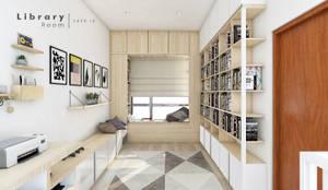 Projekty,  Domowe biuro i gabinet zaprojektowane przez CASA.ID ARCHITECTS