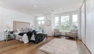 House renovation, house extension Stevenage Road SW6: modern Bedroom by House Renovation London Ltd