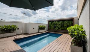 COBERTURA ANAPURUS: Terraços  por Macro Arquitetos