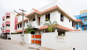 Saravanan Residence:  Bungalows by M/s Studio7 Architects