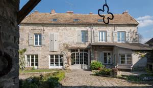 Casa de la diseñadora Gesa Hansen: Jardines de estilo moderno de Villeroy & Boch