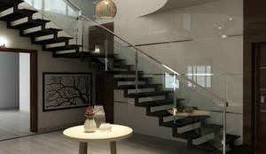 Escaleras de estilo  por M/s Studio7 Architects