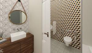 Bathroom: Espaços de restauração  por NoPlaceLikeHome ®
