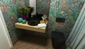 Projectos 3D Smile Bath: Casas de banho ecléticas por Smile Bath S.A.