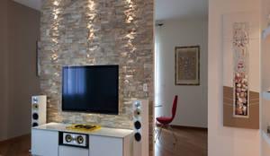 Interior Design: Soggiorno in stile in stile Moderno di ARCHITAG studio Architettura Torino