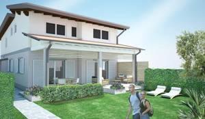 Ristrutturazione edificio Cinquale: Casa unifamiliare in stile  di Della Bona & Fiorentini Studio di Architettura