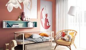 MIKOŁAJSKAstudio :  tarz Kız çocuk yatak odası