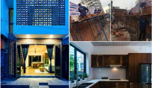 Thiết Kế Nhà 3 Tầng 5x8m Thoáng Mát Với Chi Phí 900 Triệu Ở Gò Vấp:  Nhà gia đình by Công ty TNHH Xây Dựng TM – DV Song Phát