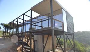 Dormitorio principal: Casas de estilo moderno por PhilippeGameArquitectos