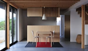 House-Sa: 伊藤憲吾建築設計事務所が手掛けたダイニングです。