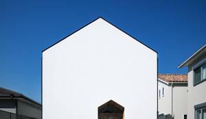 正面ファサード: 株式会社seki.designが手掛けた家です。