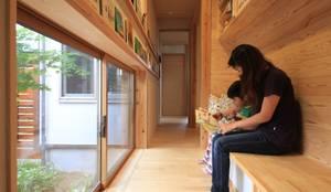 燈の家: 田村建築設計工房が手掛けた書斎です。