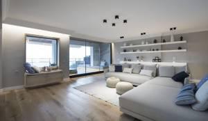 Гостиная в . Автор – Luxiform Iluminación