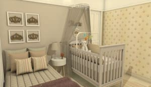 Quarto de Bebê: Quartos de bebê  por AT arquitetos