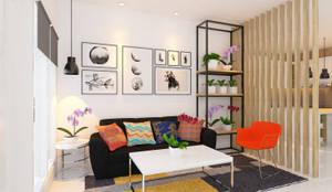 Ruang Tamu: Ruang Keluarga oleh Tata Griya Nusantara,