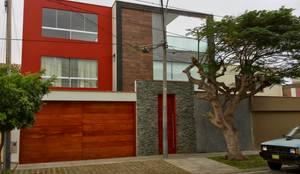 Vivienda Unifamiliar - Fachada Exterior: Casas de estilo moderno por EPG  Studio