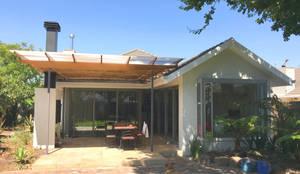 Garden elevation 1:  Patios by tillmanecke:architecture