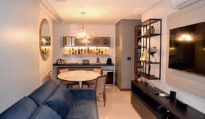 Sala: Salas de estar modernas por Bino Arquitetura