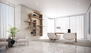 Office:  Study/office by Dessiner Interior Architectural