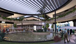 ROTONDA: Centros Comerciales de estilo  por EMERGENTE | Arquitectura