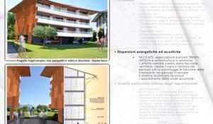 Restyling e facciata , Manerba del Garda: Condominio in stile  di Daniele Piazzola architetto