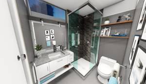 حمام تنفيذ Minkarq. Arquitectura y construcción