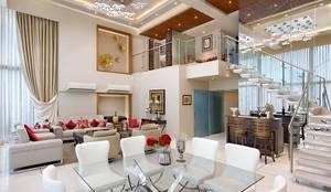غرفة السفرة تنفيذ Mahesh Punjabi Associates