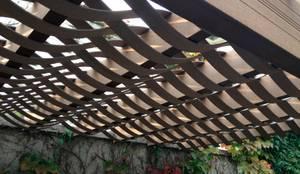 Techo con vista ondular en casa: Techos planos de estilo  por Kiinch