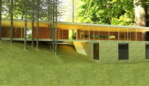 Casa en Costayres, Costa del este: Casas de estilo moderno por Inca Arquitectura