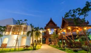 บ้านพักอาศัยคุณเปรมลักษณ์:  บ้านและที่อยู่อาศัย by Arkinetic Co.,Ltd by Beam&Kai Architects