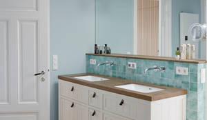 Umbau eines Stadthauses: klassische Badezimmer von Anja Lehne interior design