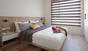 Phòng ngủ by 極簡室內設計 Simple Design Studio