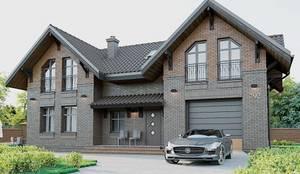 Общий вид: Дома в . Автор – hq-design