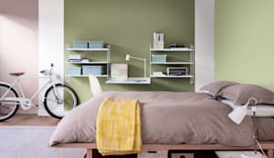 The Playful Bedroom:  Bedroom by Dulux UK
