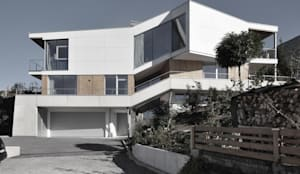 Haus AB Innsbruck :  Einfamilienhaus von markus fuchs architektur zt gmbh