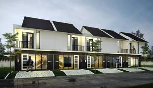 Eksterior :  Rumah by Atelier BAOU+